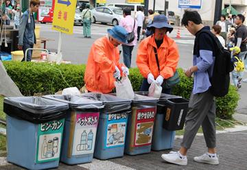 ゴミ分別収集ボランティア