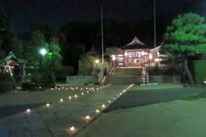 社寺のライトアップ